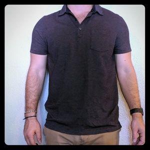 BR Burgandy, short sleeve Polo